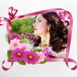Flower Photo Frames Deluxe-Free photo in flower