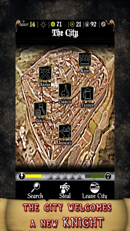 Durlindana - Classic Fantasy Medieval Offline RPG screenshot-0