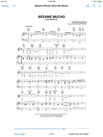 Besame Mucho Sheet Music by Consuelo Velazquez on iBooks