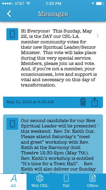 Center for Spiritual Living-LA screenshot-4