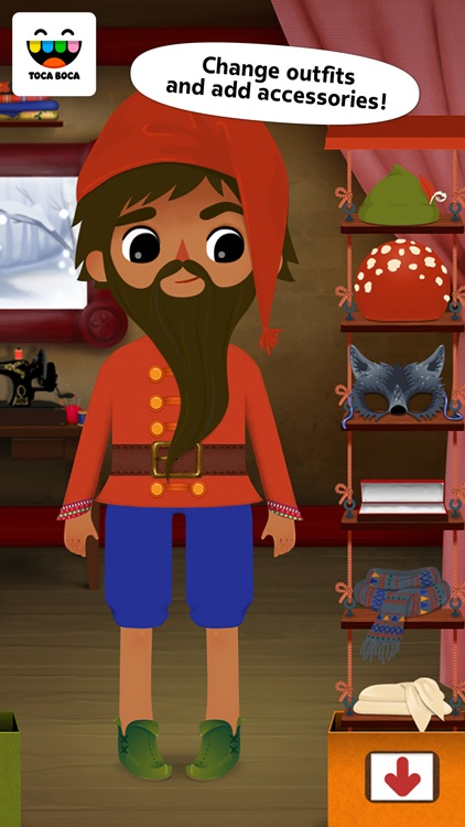 Toca Tailor Fairy Tales screenshot-3