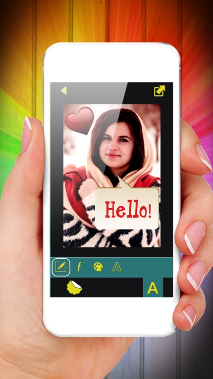 Fun Photo Writer - Decorate Pictures with Funny Captions and Add Cute Stickers screenshot-3