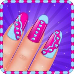 Girls Nail Art Salon Games For Girls On The App Store