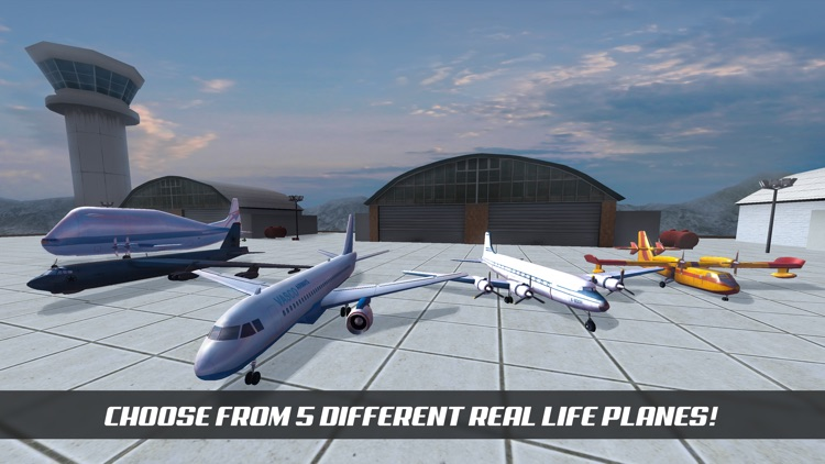 Airplane Alert Extreme Landing 3D screenshot-1