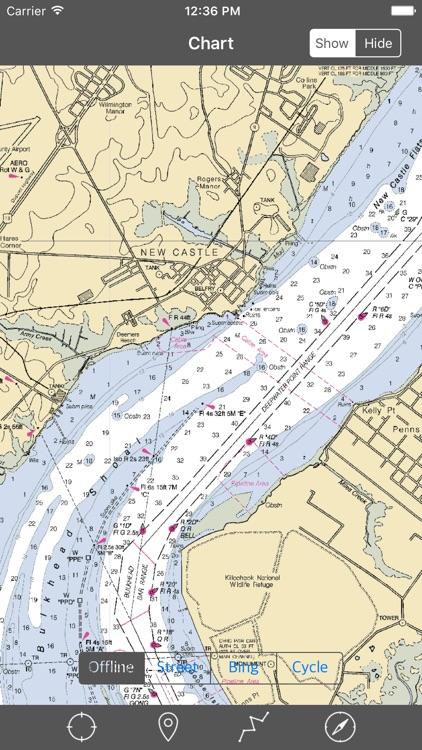 Delaware Bay – Raster Nautical Charts screenshot-3