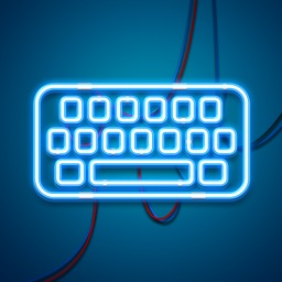 LED Lights Keyboard – Glow.ing Neon Keyboards Theme.s and Color.ful Fonts for iPhone