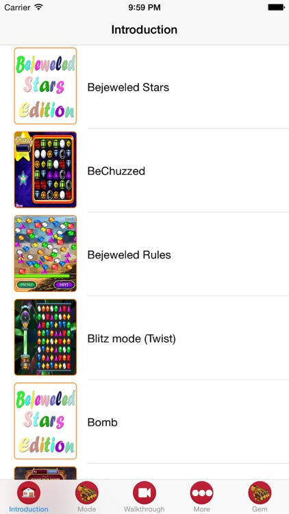 Edition Guide For Bejeweled Stars