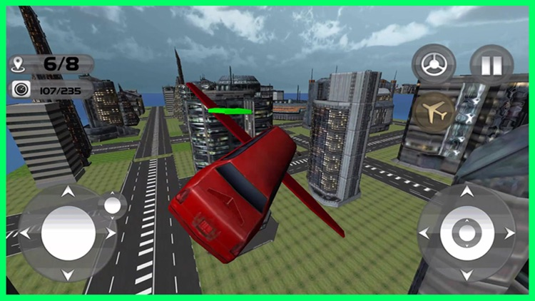 Floating Limo Flying Car Pro screenshot-4