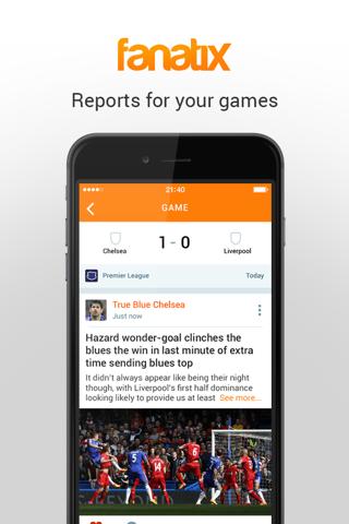 fanatix - Sports Video News screenshot 3