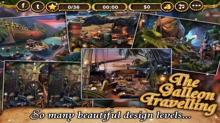 The Galleon Travelling - Hidden Objects game for kids and adults screenshot-3