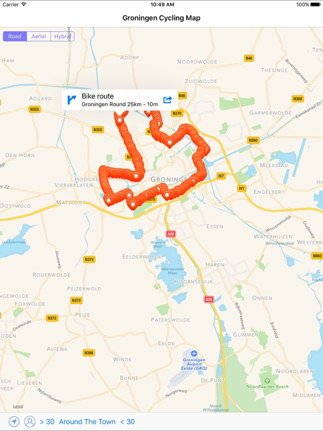 Groningen Cycling Map on the App Store