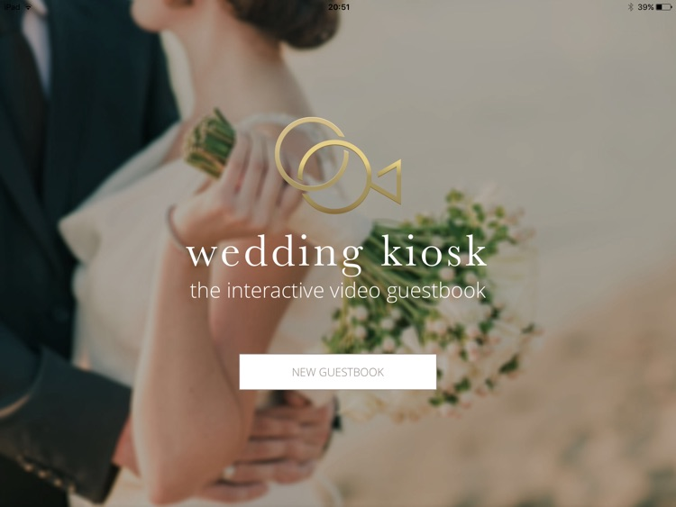 Wedding Kiosk - The interactive guestbook for your wedding