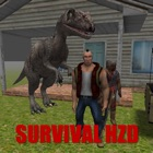 Survival HZD Island - Dinosaur & Zombie Survival icon