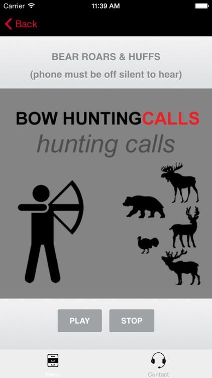 Bow Hunting Calls - BLUETOOTH COMPATIBLE screenshot-3