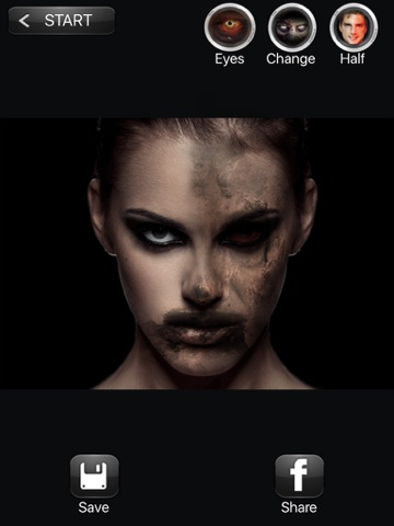 ZOMBIEBOOTH ZOMBIES MORPHING FACE EDITOR | App