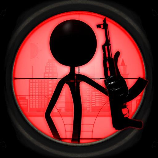 Death Zone For Stickman Commando Strike Mission
