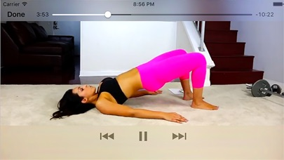 Butt Workouts Exercises app image