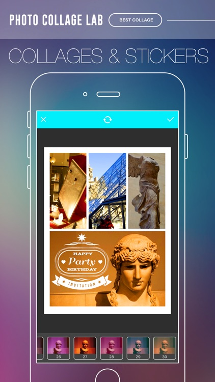 Photo Collage Lab Pro - photo editor, collage maker & creative design App screenshot-4