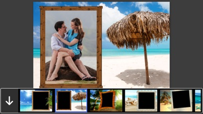 Island Beach Photo Frames - Decorate your moments with elegant photo frames screenshot one