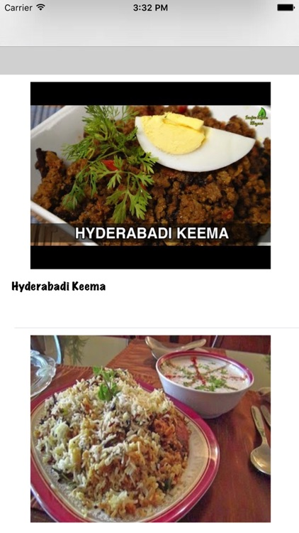 Hyderabadi Dishes Recipes