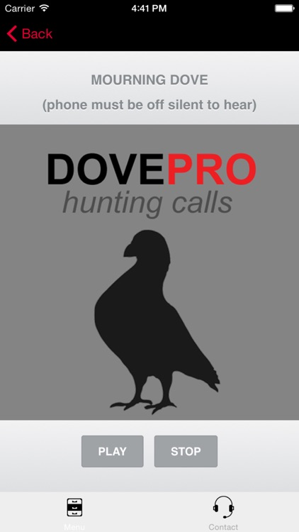 REAL Dove Calls and Dove Sounds for Bird Hunting! - BLUETOOTH COMPATIBLE screenshot-3