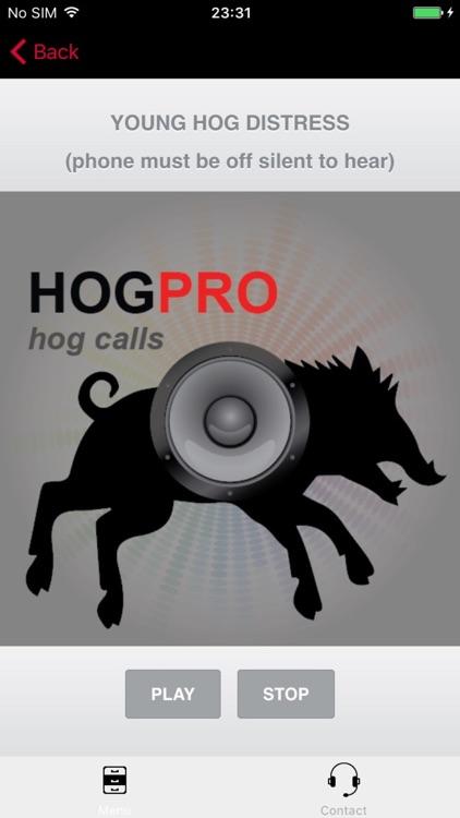 REAL Hog Calls - Hog Hunting Calls - Boar Calls screenshot-3