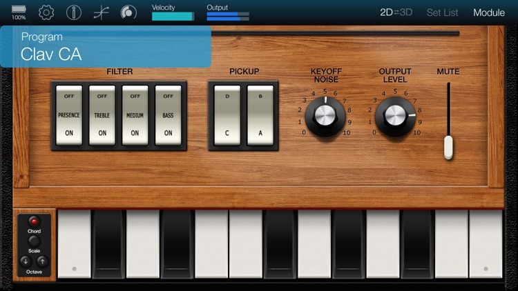 KORG Module Standard for iPhone screenshot-4