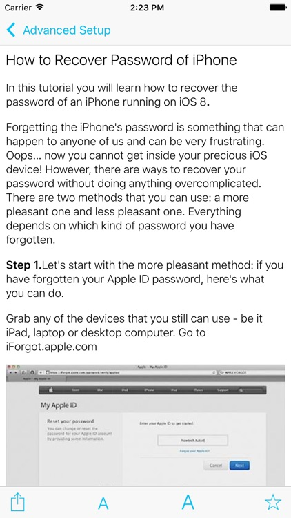 User manual for iPhone & iPad screenshot-3