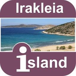 Irakleia Island Offline Map Travel  Guide