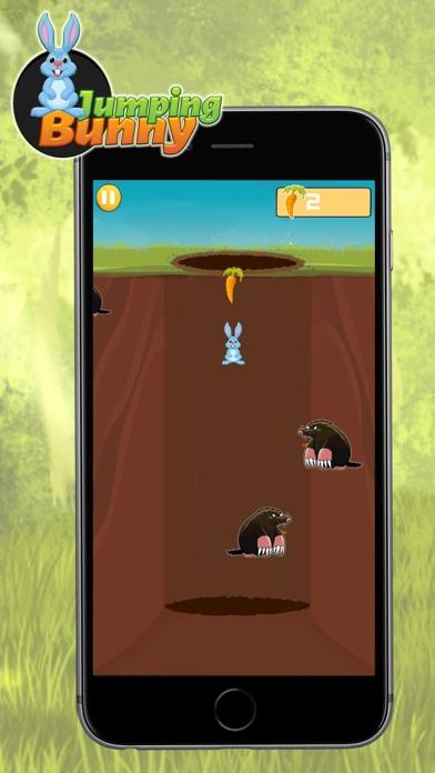 点击获取Jumping Bunny 2D - Dodge The Enemy, Tap to Hop and Bounce To Collect Carrots
