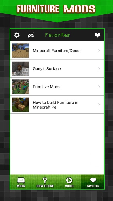 Screenshots of New Furniture Mods - Pocket Wiki & Game Tools for Minecraft PC Edition for iPhone