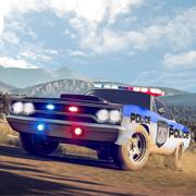 警察追车VS银行劫匪:越野警察逮捕游戏