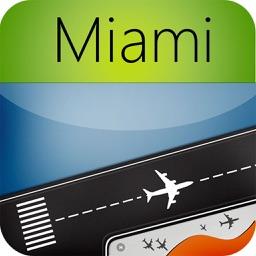Miami Airport (MIA) Flight Tracker Radar