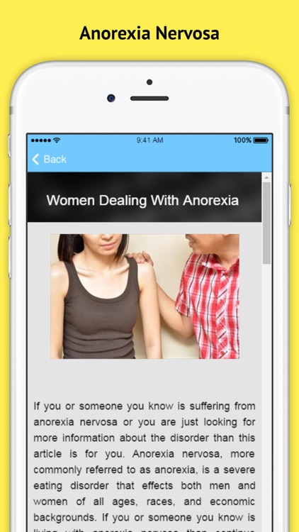 Anorexia - Women Dealing With Anorexia screenshot-1