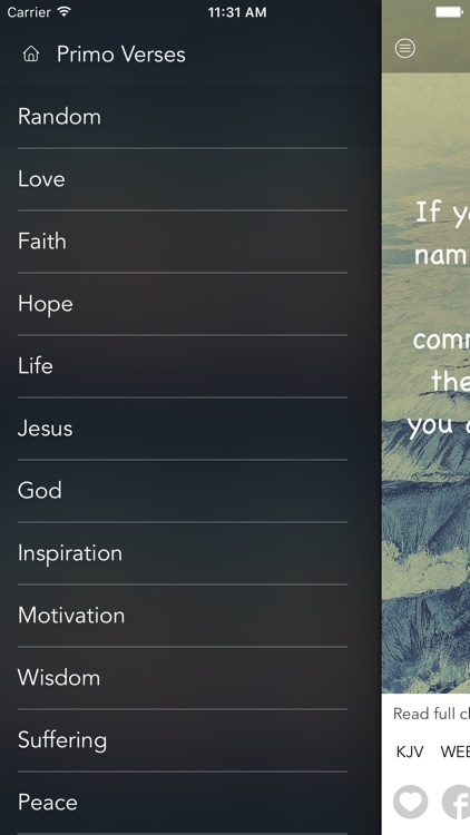 Daily Bible Verses: Inspirational Verse of the Day screenshot-3