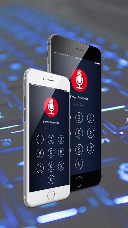 Audio recorder - voice recorder - sound recorder & Recorder for iCloud screenshot-3