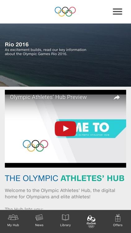 Olympic Athletes' Hub 2016