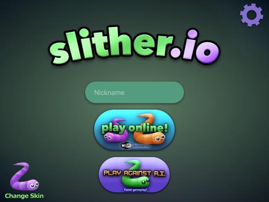 slither.io iPad