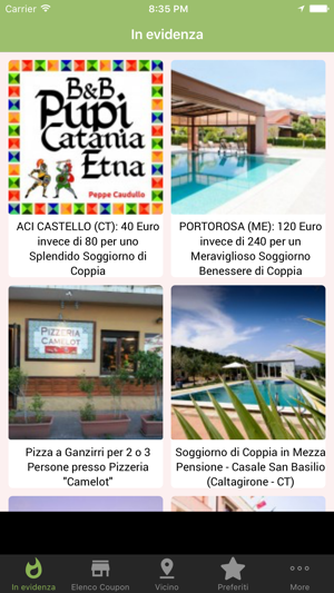 Sicilia Coupon Offerte Sconti on the App Store