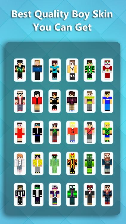 Best Boy Skins Pro - Skin Collection for MineCraft Pocket Edition