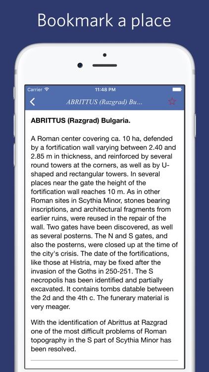 Encyclopedia of Classical Sites screenshot-3