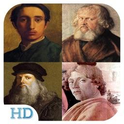 Painting Gallery HD - Leonardo da Vinci , Edgar Degas , Hieronymus Bosch , Sandro Botticelli