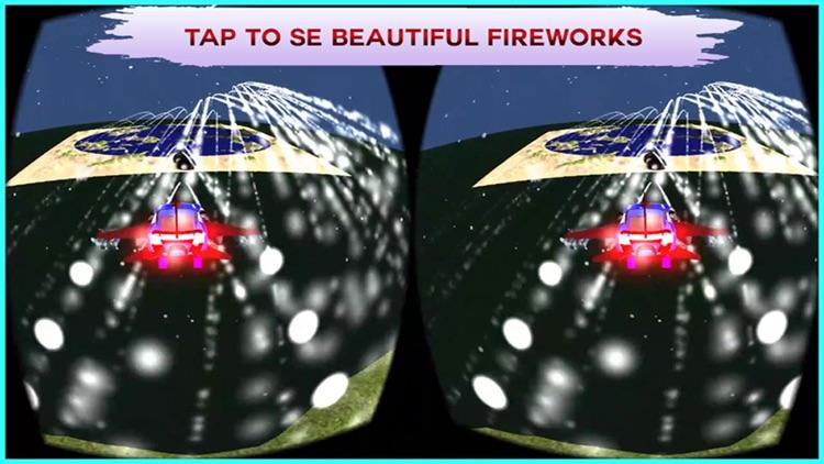 VR Flying Car Flight Simulator Pro - The best game for google cardboard Virtual Reality screenshot-4