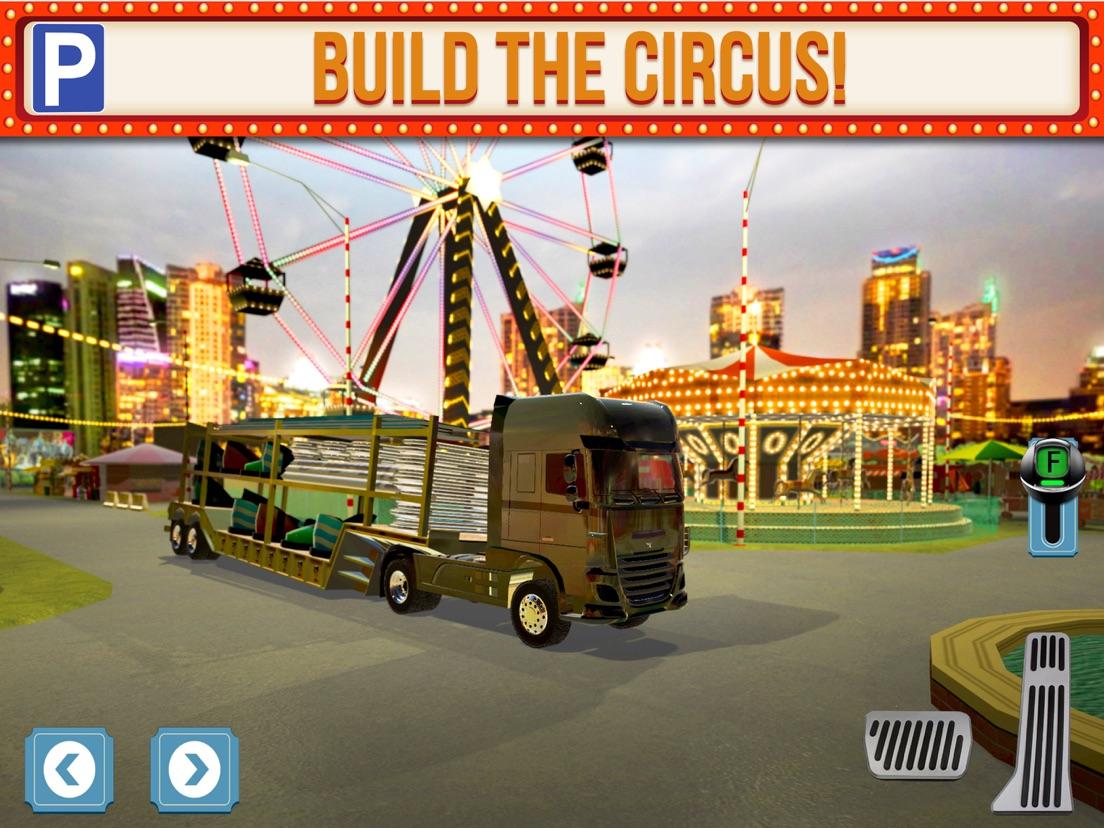 Circus Trucker Parking Sim Auto Race Spelletjes Gratis