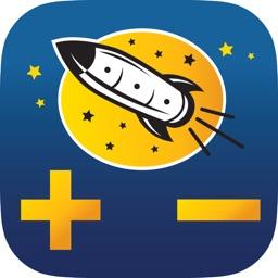 Rocket Math Addition