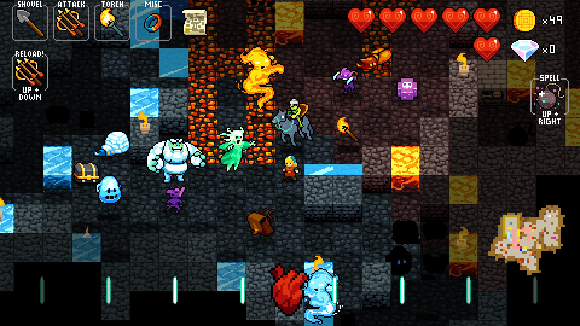 Crypt of the NecroDancer screenshot 12
