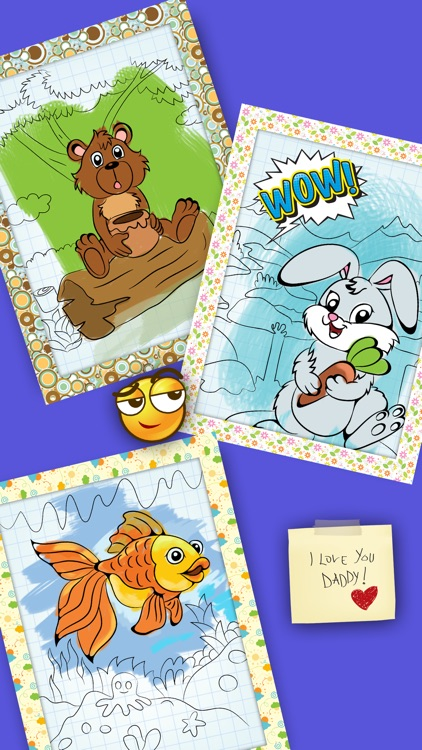 Color Books - The best coloring and drawing animal app for kid screenshot-4
