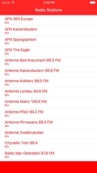 Radiosender Rheinland-Pfalz FM Online Stream screenshot one