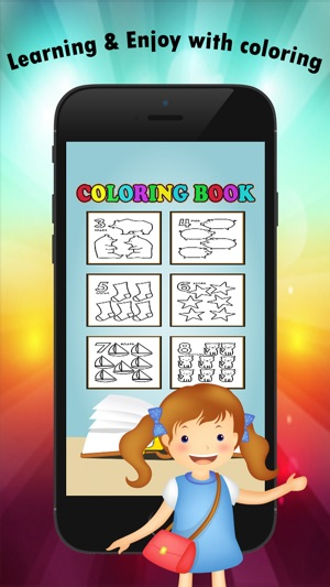 123 Coloring Book for children age 1-10: Learn to write and color ...