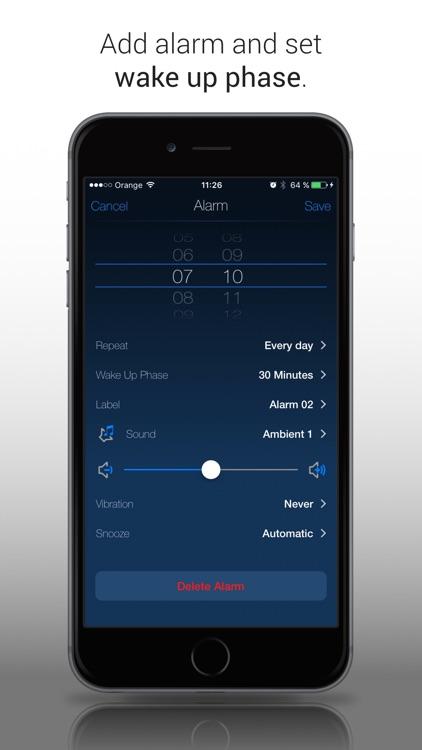 Clever Alarm Clock (Sleep Cycle Tracker) screenshot-3